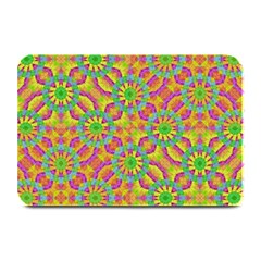 Modern Colorful Geometric Plate Mats by dflcprints