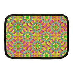 Modern Colorful Geometric Netbook Case (medium)  by dflcprints
