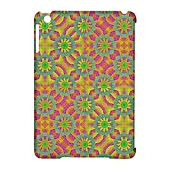 Modern Colorful Geometric Apple Ipad Mini Hardshell Case (compatible With Smart Cover) by dflcprints