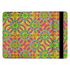 Modern Colorful Geometric Samsung Galaxy Tab Pro 12 2  Flip Case by dflcprints