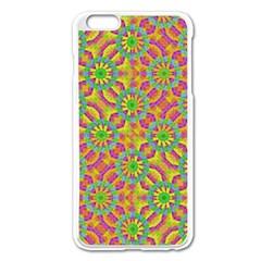 Modern Colorful Geometric Apple Iphone 6 Plus/6s Plus Enamel White Case by dflcprints