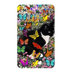 Freckles In Butterflies I, Black White Tux Cat Memory Card Reader by DianeClancy
