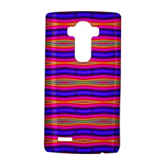 Bright Pink Purple Lines Stripes Lg G4 Hardshell Case by BrightVibesDesign