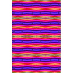 Bright Pink Purple Lines Stripes 5 5  X 8 5  Notebooks by BrightVibesDesign