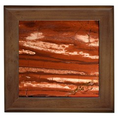 Red Earth Natural Framed Tiles by UniqueCre8ion