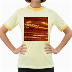 Red Earth Natural Women s Fitted Ringer T Shirts