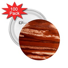 Red Earth Natural 2 25  Buttons (100 Pack)  by UniqueCre8ion