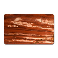 Red Earth Natural Magnet (rectangular) by UniqueCre8ion