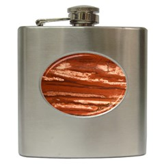Red Earth Natural Hip Flask (6 Oz) by UniqueCre8ion