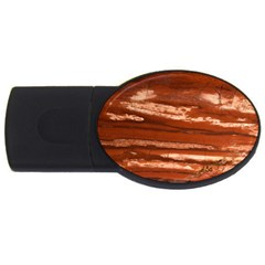 Red Earth Natural Usb Flash Drive Oval (4 Gb)  by UniqueCre8ion