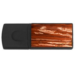 Red Earth Natural Usb Flash Drive Rectangular (4 Gb)  by UniqueCre8ion