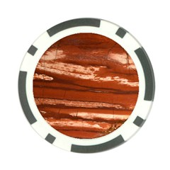 Red Earth Natural Poker Chip Card Guards by UniqueCre8ion