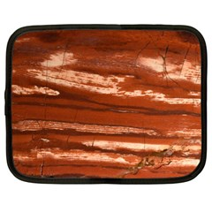 Red Earth Natural Netbook Case (large) by UniqueCre8ion