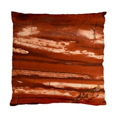 Red Earth Natural Standard Cushion Case (one Side) by UniqueCre8ion
