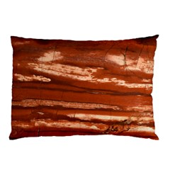Red Earth Natural Pillow Case by UniqueCre8ion