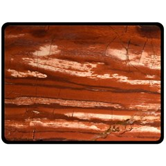 Red Earth Natural Fleece Blanket (large)  by UniqueCre8ion