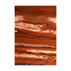 Red Earth Natural Shower Curtain 48  X 72  (small)  by UniqueCre8ion