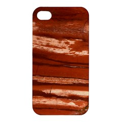 Red Earth Natural Apple Iphone 4/4s Premium Hardshell Case by UniqueCre8ion
