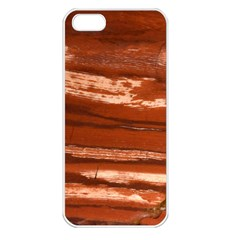 Red Earth Natural Apple Iphone 5 Seamless Case (white) by UniqueCre8ion