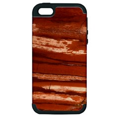 Red Earth Natural Apple Iphone 5 Hardshell Case (pc+silicone) by UniqueCre8ion