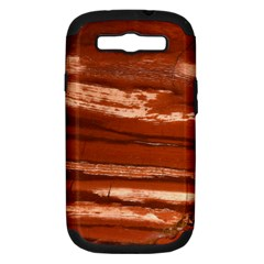 Red Earth Natural Samsung Galaxy S Iii Hardshell Case (pc+silicone) by UniqueCre8ion