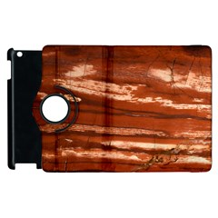 Red Earth Natural Apple Ipad 3/4 Flip 360 Case by UniqueCre8ion