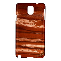 Red Earth Natural Samsung Galaxy Note 3 N9005 Hardshell Case by UniqueCre8ion
