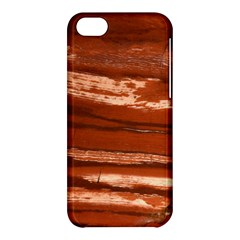 Red Earth Natural Apple Iphone 5c Hardshell Case by UniqueCre8ion