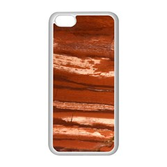 Red Earth Natural Apple Iphone 5c Seamless Case (white) by UniqueCre8ion