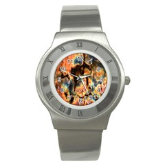 Naturally True Colors  Stainless Steel Watch by UniqueCre8ions