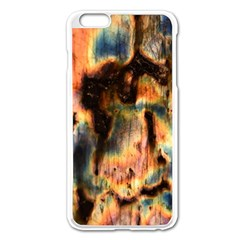 Naturally True Colors  Apple Iphone 6 Plus/6s Plus Enamel White Case by UniqueCre8ions