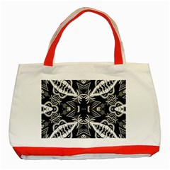 Mathematical Classic Tote Bag (red) by MRTACPANS