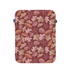 Marsala Leaves Pattern Apple Ipad 2/3/4 Protective Soft Cases by sifis