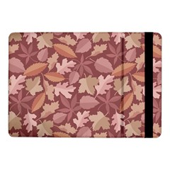 Marsala Leaves Pattern Samsung Galaxy Tab Pro 10 1  Flip Case by sifis