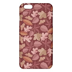 Marsala Leaves Pattern Iphone 6 Plus/6s Plus Tpu Case by sifis