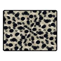 Metallic Camouflage Fleece Blanket (small) by dflcprints