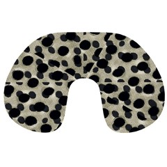 Metallic Camouflage Travel Neck Pillows by dflcprints