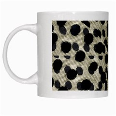 Metallic Camouflage White Mugs by dflcprints