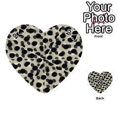Metallic Camouflage Playing Cards 54 (heart)
