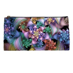 Bright Taffy Spiral Pencil Cases by WolfepawFractals