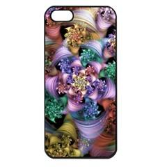 Bright Taffy Spiral Apple Iphone 5 Seamless Case (black) by WolfepawFractals