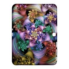 Bright Taffy Spiral Samsung Galaxy Tab 4 (10 1 ) Hardshell Case  by WolfepawFractals