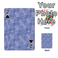 Modern Abstract Geometric Playing Cards 54 Designs  by dflcprints