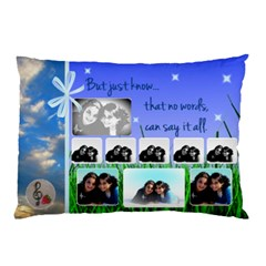 Malky By Reena Klein   Pillow Case (two Sides)   Kig7h9u4ovng   Www Artscow Com Back