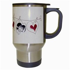 Kids Travel Mug White By Deca   Travel Mug (white)   Wteql898m8l9   Www Artscow Com Right