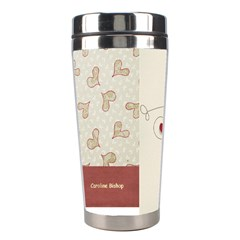 Kids Stainless Steel Travel Tumbler By Deca   Stainless Steel Travel Tumbler   Thxbq3dah463   Www Artscow Com Left