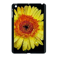 Yellow Flower Close Up Apple Ipad Mini Case (black) by MichaelMoriartyPhotography