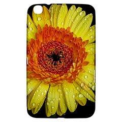 Yellow Flower Close Up Samsung Galaxy Tab 3 (8 ) T3100 Hardshell Case  by MichaelMoriartyPhotography