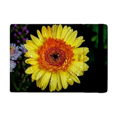 Yellow Flower Close Up Ipad Mini 2 Flip Cases by MichaelMoriartyPhotography