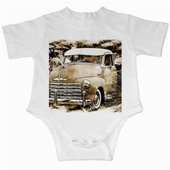 Vintage Chevrolet Pick up Truck Infant Creepers
